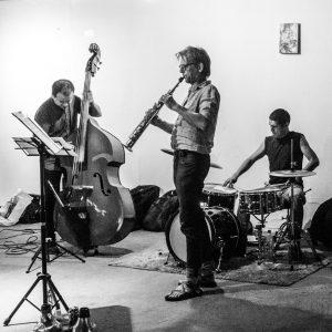 Trio Dijkstra/Andrade/Lopez-Valdes @ Centro Cultural España, Mexico City, MX